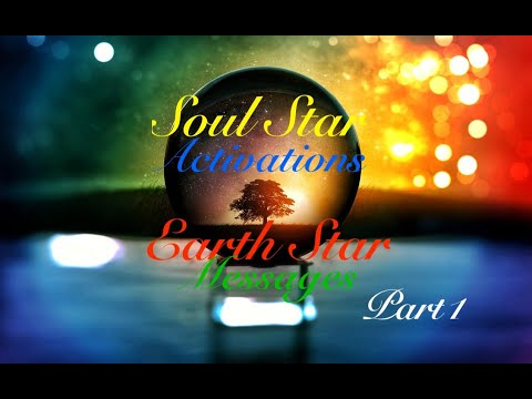PART 1 - Earth Star To Soul Star Activations And Messages For You - Shapeshifting Through Life