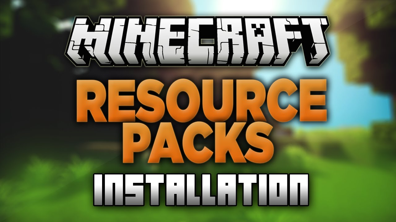 How to Install Resource Packs in Minecraft 1 13 1! (Texture Packs)