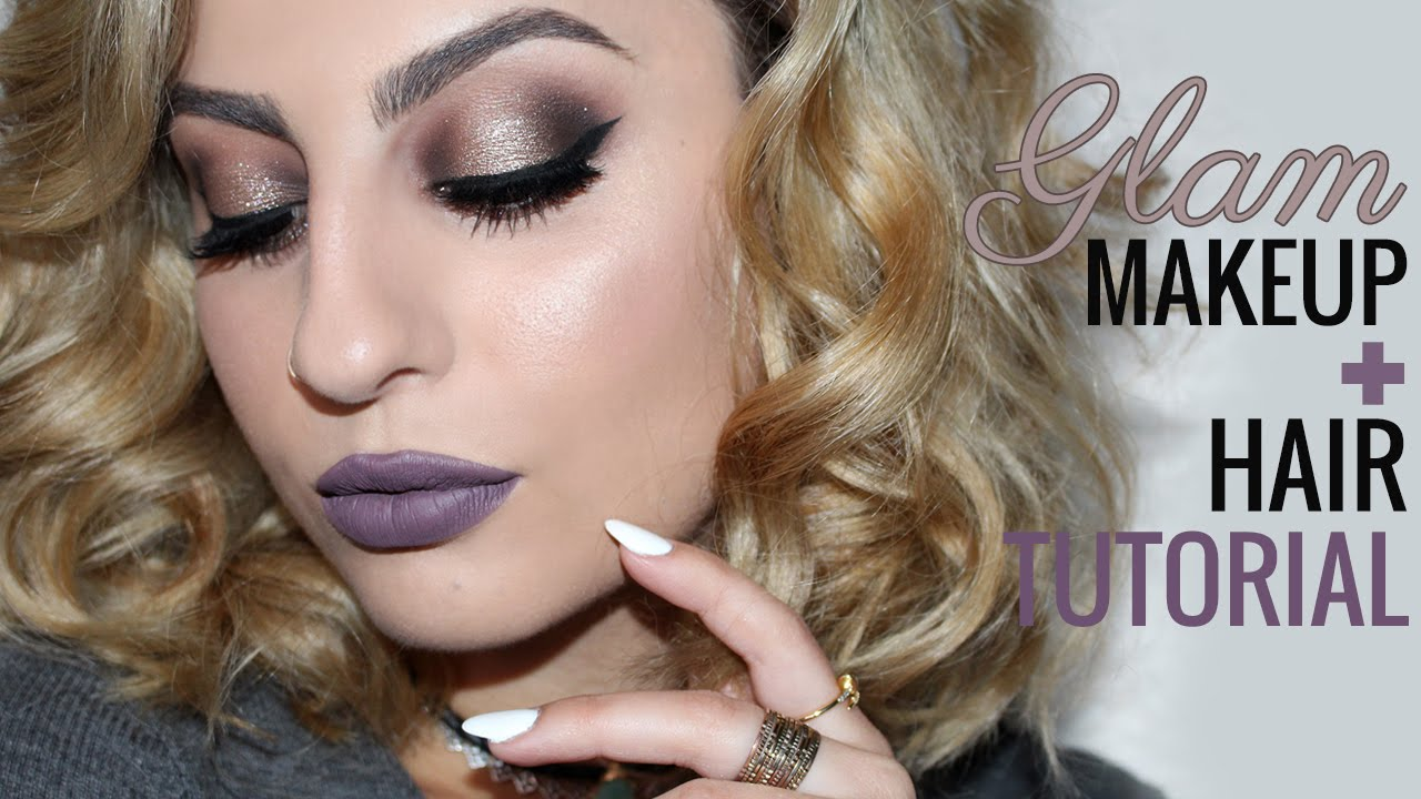 Glam Makeup U0026 Hair Tutorial! Feat. ColourPop Birthday Boy - YouTube