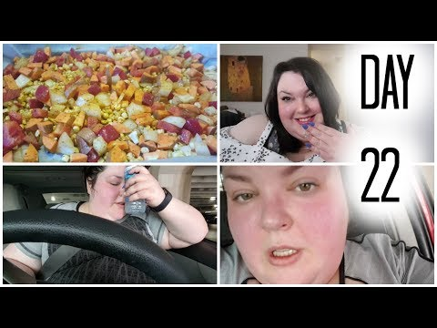 DAY 22 WEIGHTLOSS TRANSFORMATION NEW NAILS AND LOADS OF SWEAT!