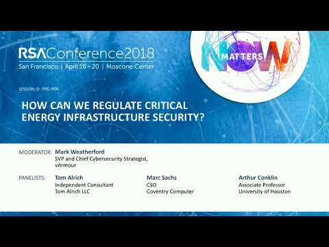 How Can We Regulate Critical Energy Infrastructure Security?