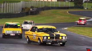 Historic Touring Cars | Sandown Raceway | Blend Line TV