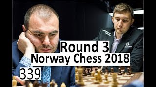 Norway Chess Round 3: Queen hiding from discovered attacks!