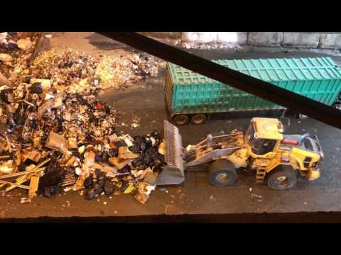 Renewable Energy - Trash to Engery Production Video Tour