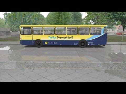 Omsi The Bus Simulator Dublin Bus Route 45a Enviro 400 Doovi
