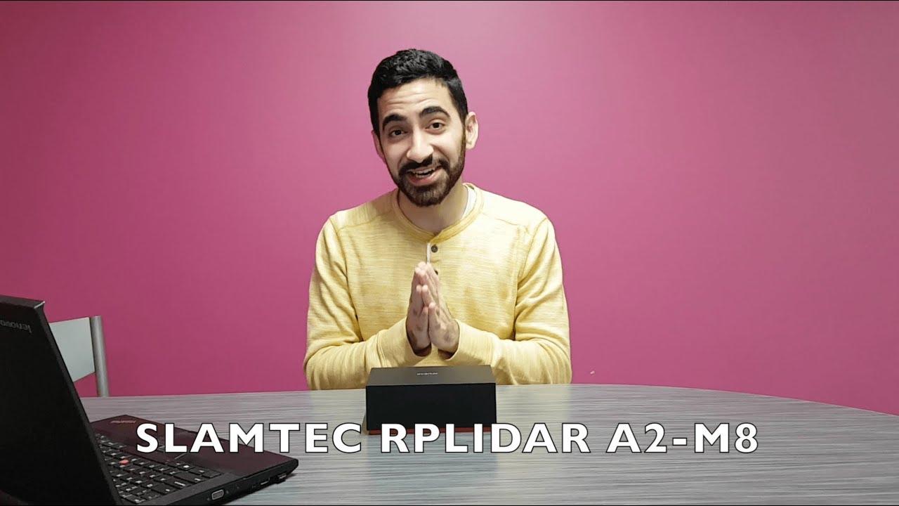 SLAMTEC RPLIDAR A2-M8 Unboxing