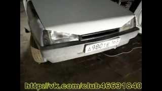 ВАЗ2108 Замена лонжерона, капот бед бой. Кузовной ремонт.