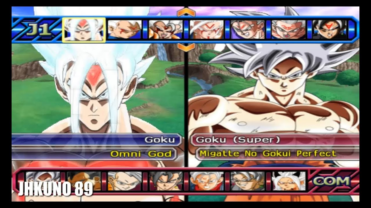 GOKU OMNI GOD (ANIME WAR ) TEAM vs GOKU MNG TEAM | DRAGON BALL Z BUDOKAI  TENKAICHI 3