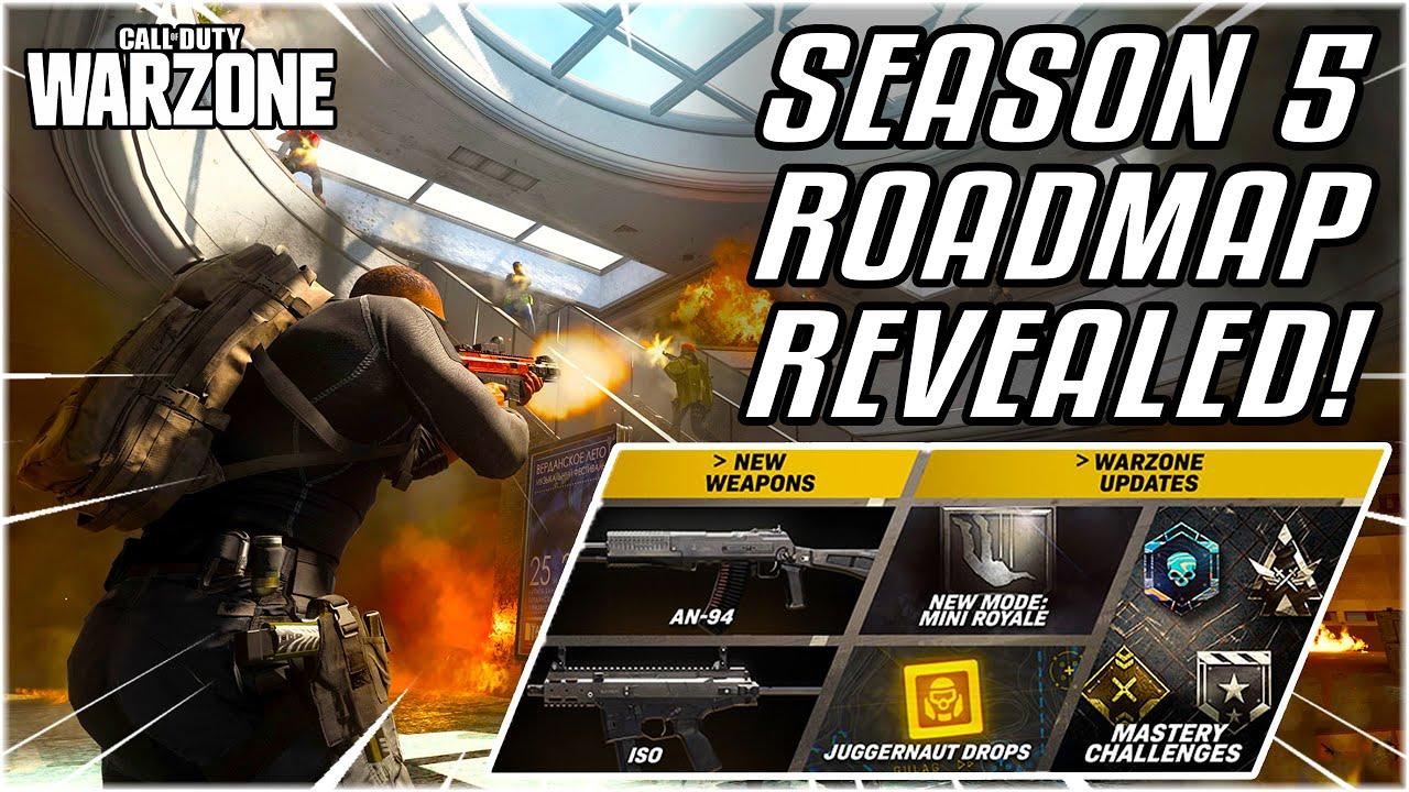 Season 5 Roadmap Revealed Full Details For The Next Season