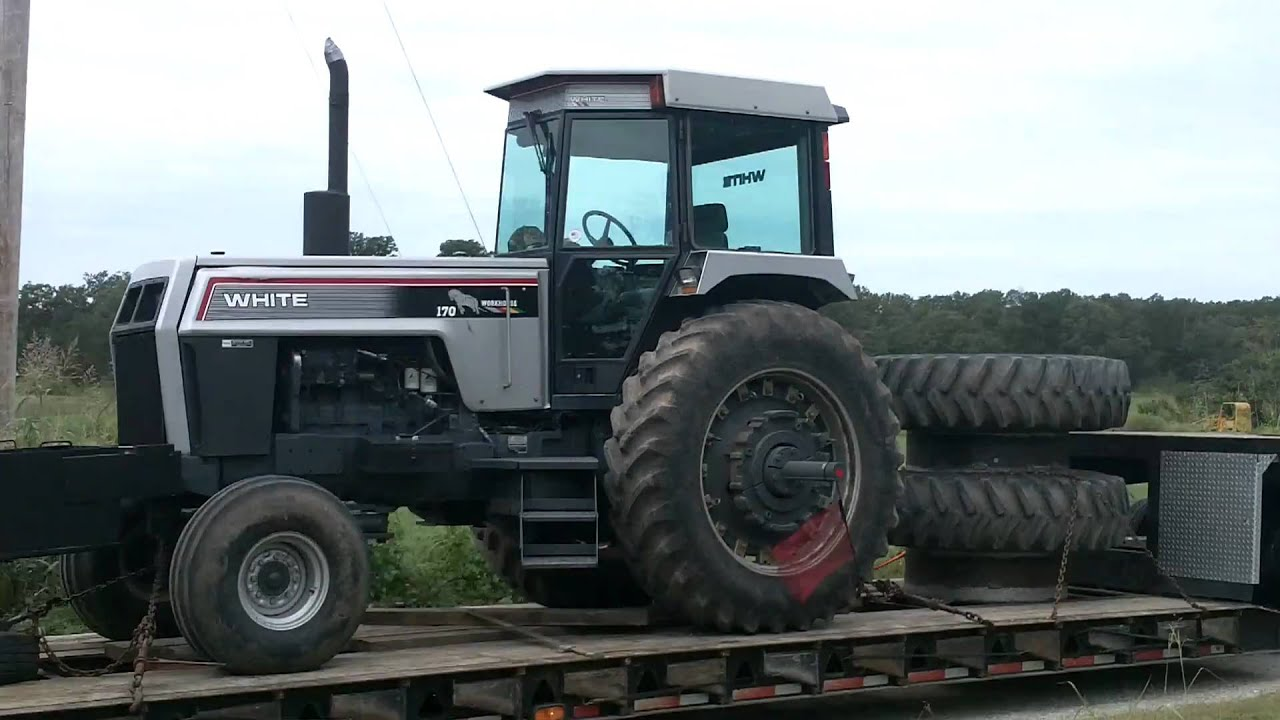 195 White Tractor : White workhorse tractor youtube