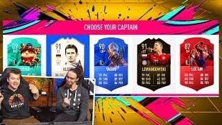 LOL vs FIFA  NERVARIEN układa mi DRAFT! FIFA 19