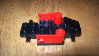 how to build a lego go cart