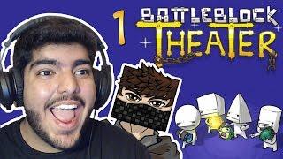BattleBlock Theater - w/ Fir4sGamer : طقطقنا على بعض !! - Ep1