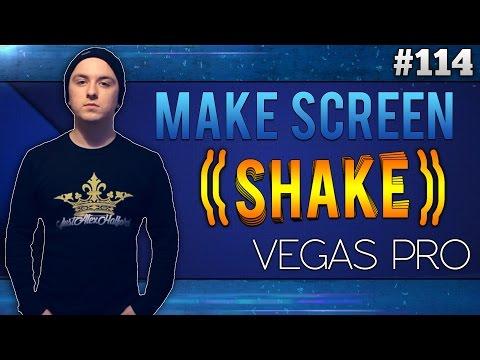Sony Vegas Pro 13: How To Make The Screen Shake - Tutorial #114