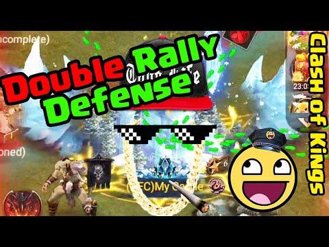 Clash Of Kings - Double Rally Defense   Akira