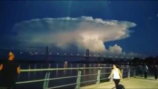"""Wolken-Wetter-Klima - was hier zu sehen ist soll """"normal"""" sein ?"""