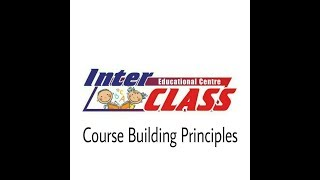 Course Building Principles