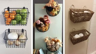 23 Super Awesome Wall Storage Ideas