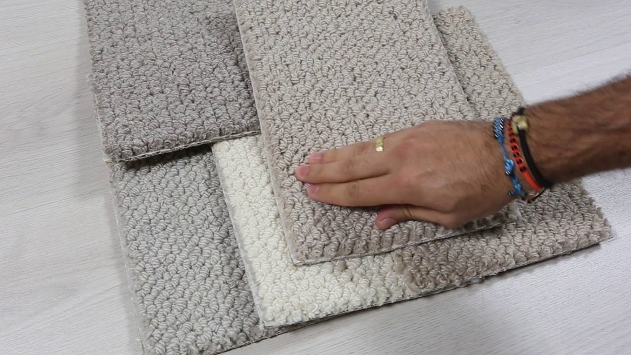 Alfombra de lana a medida de nudo grueso modelo Aran - YouTube