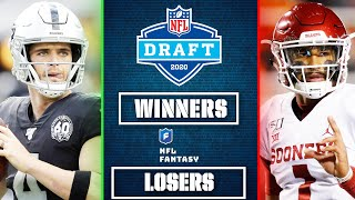 Top 3 Fantasy Winners & Losers from the 2020 NFL Draft