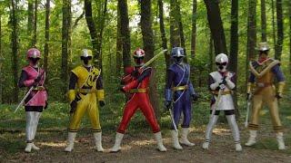Power Ranger Super Ninja Steel | Rangers vs Rygore round 2 | Episodio 8