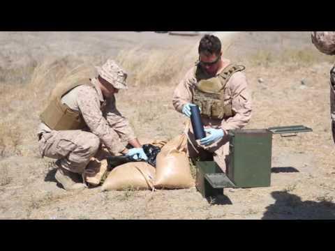 Inside The Explosive: EOD Marines conduct inerting training