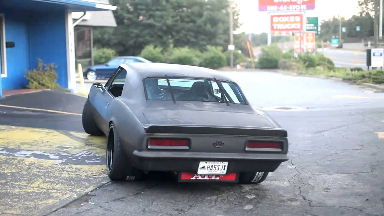 LS7 1967 Vengeance Streetfigher Camaro Preview - YouTube