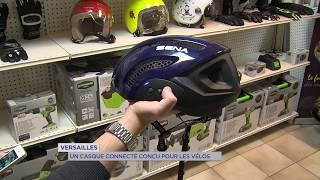 Versailles : un casque connecté conçu pour les vélos