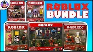 ROBLOX MEGA BUNDLE! Citizens of Roblox, Archmage Arms Dealer, Todd the Turnip, PLUS MANY MORE SETS