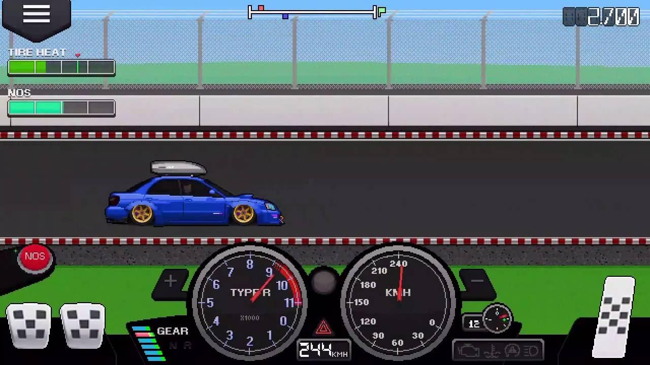 Pixel Car Racer   Mile Tune
