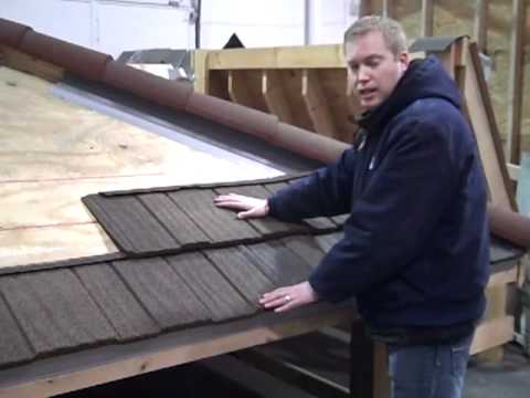 Decra Stone Coated Steel Roofing XD Panel Installation Process   YouTube