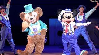 ºoº [ 4K ]  東京ディズニーシー ステップ・トゥ・シャイン ! ドックサイドステージ TDS Stella Lou characters show Step to Shine!