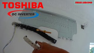 Cara pasang ac|toshiba inverter 2pk|tutorial install toshiba