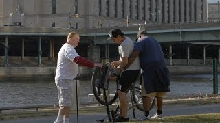 Nuts Stuck In A Bike Prank!