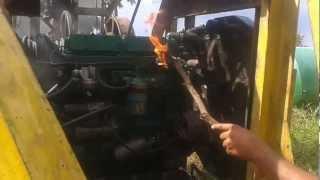 Como funcionar um motor PERKINS!!