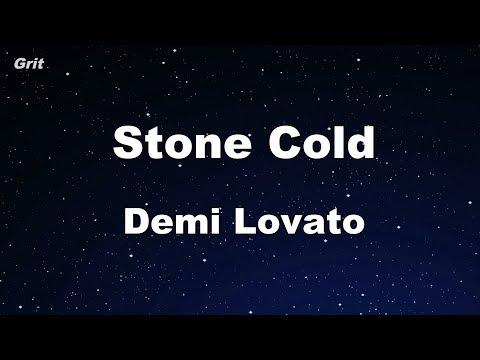 Stone Cold - Demi Lovato Karaoke 【No Guide Melody】 Instrumental