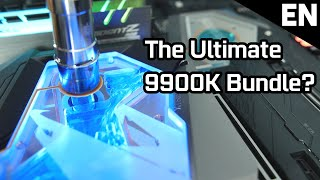 Z390 AORUS Xtreme Waterforce 5G Bundle with 9900K - The easiest way to 5.1 GHz! #XtremeCombo