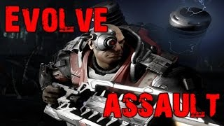 Evolve Big Alpha Gameplay Walkthrough Playthrough Part 1: The Assault (PC)