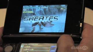 Dead or Alive Dimensions 3DS Gameplay Demo