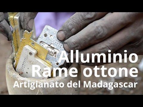 Artigianato del Madagascar | Alluminio rame e ottone