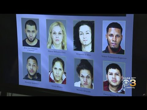 Authorities In Berks County Announce Arrest Of 8 Individuals In Violent Drug Trafficking