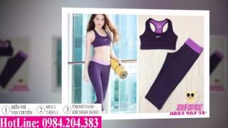 Những mẫu đồ tập aerobic, gym nữ bán chạy nhất tháng 10/2016