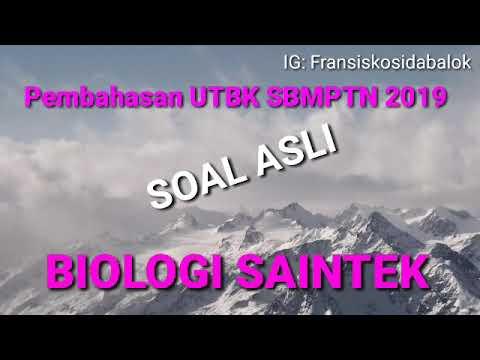 Soal Biologi UTBK SBMPTN 2019 Eps 3