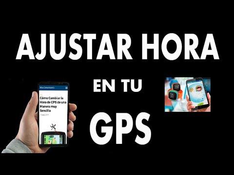 ¿Cómo Cambiar la Hora de tu GPS?