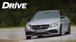 Mercedes-AMG C 63 S tested by DRIVE Magazine (english subtitles)