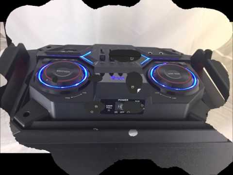 IDOLpro IPS-DJ02 Portable Wireless PA High-Power Karaoke System