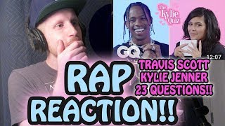 Kylie Jenner Asks Travis Scott 23 Questions RAP REACTION!!!