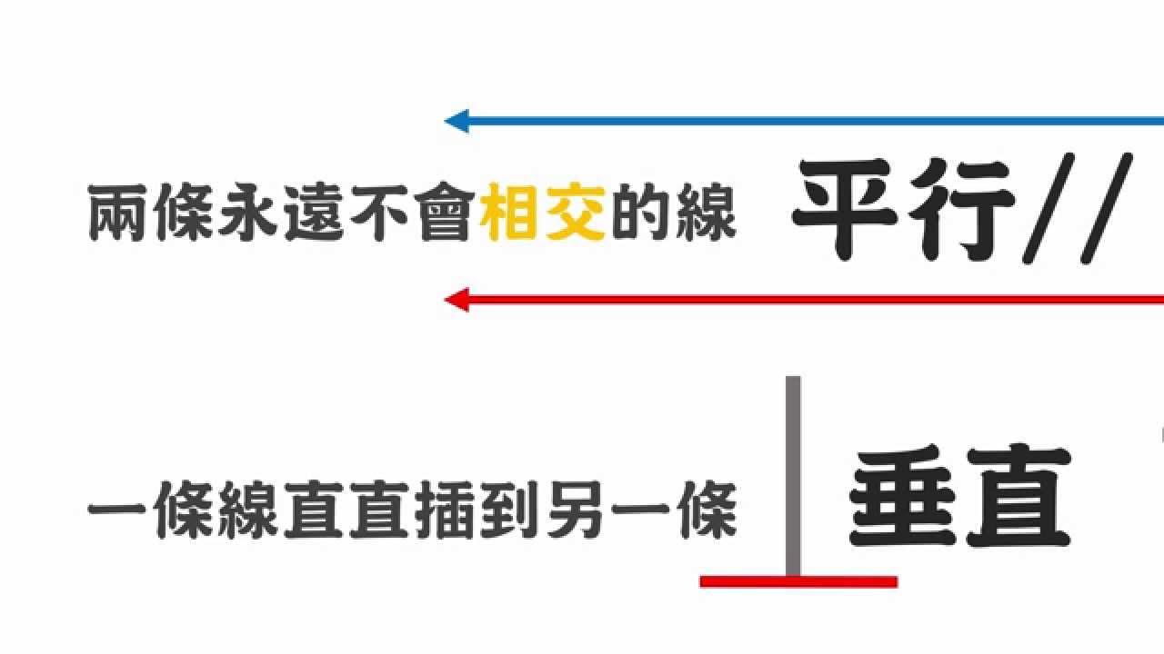 LIS國小數學-垂直平行- YouTube