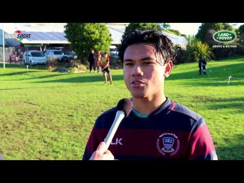 Marc Peard Sports - Land Rover First 15 Rugby - Tamaki College - Miracle Loia