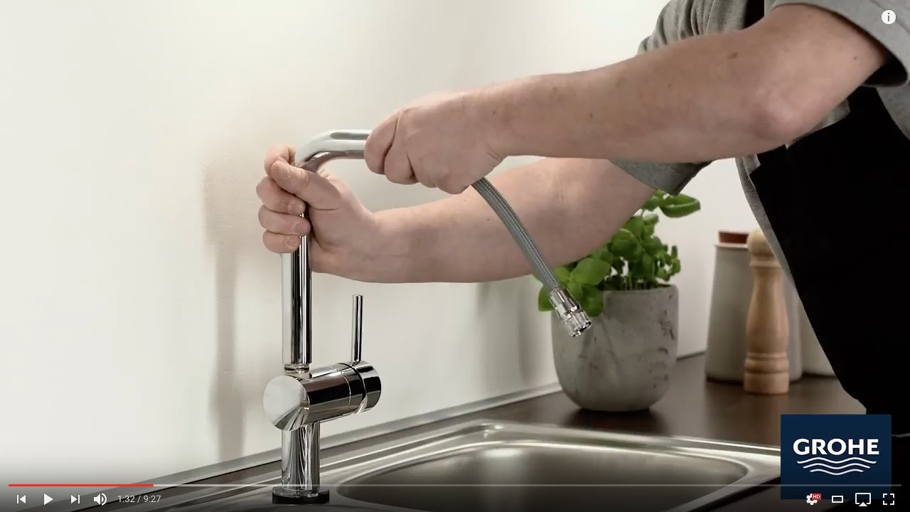Grohe Minta Touch Instalace En Youtube